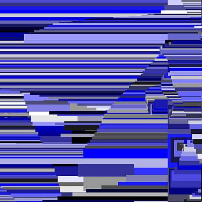 Square Digital Art - S.6.25 by Gareth Lewis