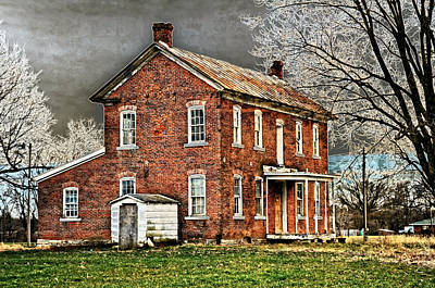Photograph - Sabre Homestead by Marty Koch