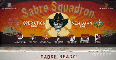 Sabre Squadron - Ond Print by Unknown