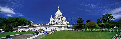 Sacre Coeur Photograph - Sacre Coeur Cathedral Paris France by Panoramic Images
