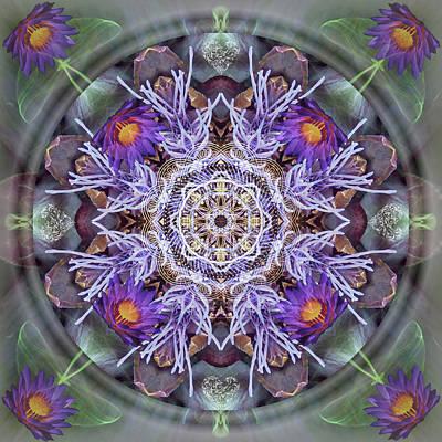 Artichoke Digital Art - Sacred Emergence by Alicia Kent