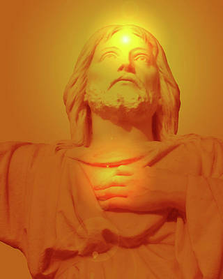 Sacred Heart No. 01 Print by Ramon Labusch
