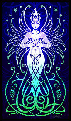 Sacred State Print by Cristina McAllister
