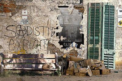 Sadistic Exploits Print by Tom Romeo