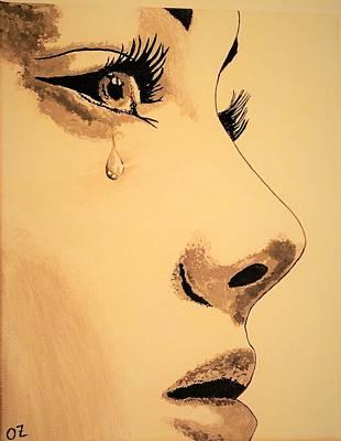 Sadness Original by Olga Zavgorodnya
