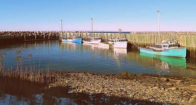 Evangeline Photograph - Safe Harbor by Karen Cook