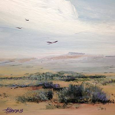 Painting - Sageland by Helen Harris