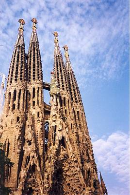 Architecture Photograph - Sagrada Familia by Sandy Taylor