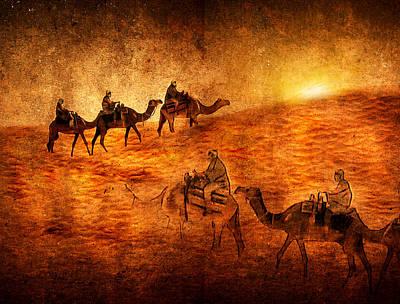 Sahara Print by Svetlana Sewell