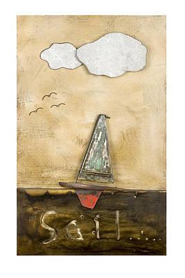 Sail 01 Print by Benjamin Bullins