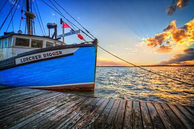 Sail Away Print by Debra and Dave Vanderlaan