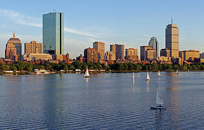 Sail Boston Print by Juergen Roth