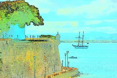 Boat Digital Art - Sail On by Tito Santiago