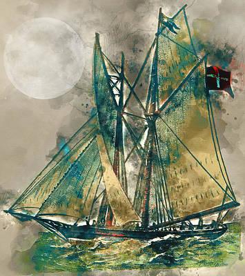 Manipulation Photograph - Sailing by Ericamaxine Price