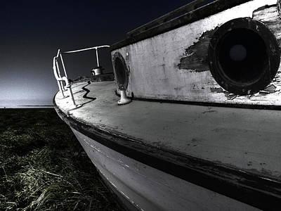 Crisis Photograph - Sailing Land by Kelly Jade King