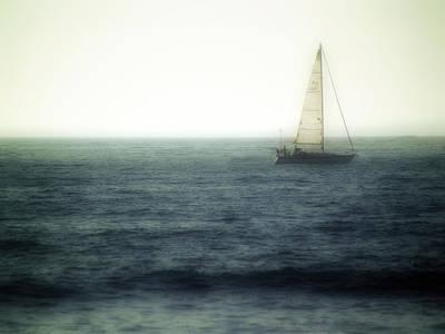 Huisken Digital Art - Sailing by Lyle  Huisken