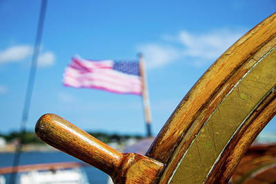 United States Coast Guard Photograph - Sailing Pride Of America by Karol Livote