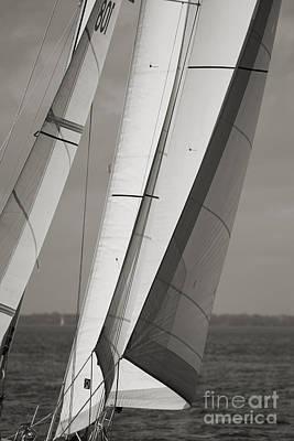 Sailing Yacht Photograph - Sails Of A Sailboat Sailing by Dustin K Ryan