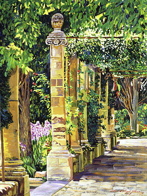 Abbey Painting - Saint-andre Abbey France by David Lloyd Glover