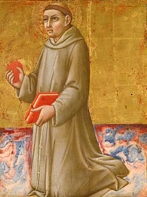 Painting - Saint Anthony Of Padua by Sano di Pietro