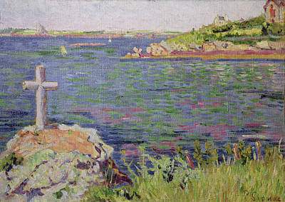 Saint Briac Print by Paul Signac
