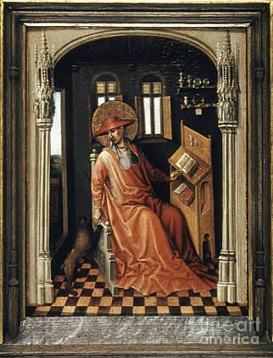Saint Jerome (340-420) Print by Granger