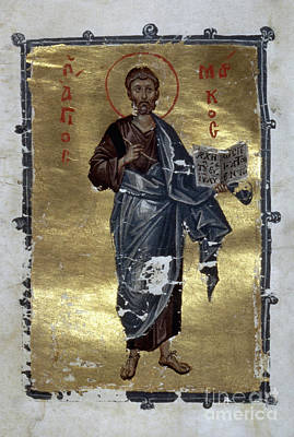 Orthodox Painting - Saint Mark by Granger