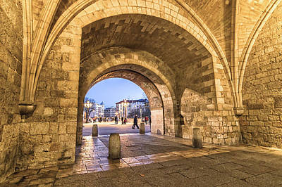 Medieval Temple Photograph - Saint Mary Arch by JJF Architects