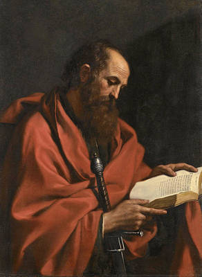 Painting - Saint Paul by Guercino