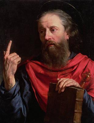 Disciples Painting - Saint Paul by Philippe de Champaigne