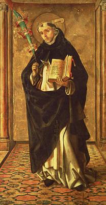 Saint Peter Print by Alonso Berruguete