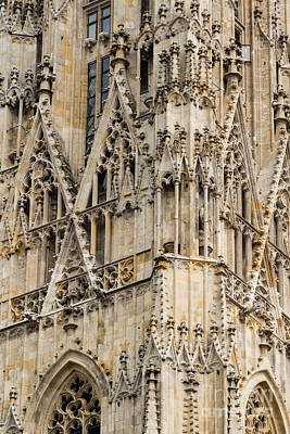 Saint Stephens Facade One Print by Bob Phillips