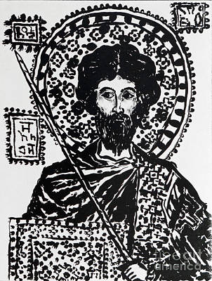 Saint Theodore Stratelates Original by Phillip Castaldi