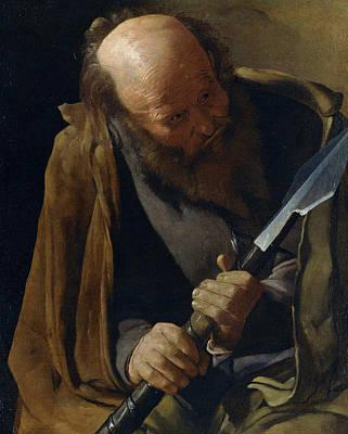 Doubting Painting - Saint Thomas by Georges de La Tour