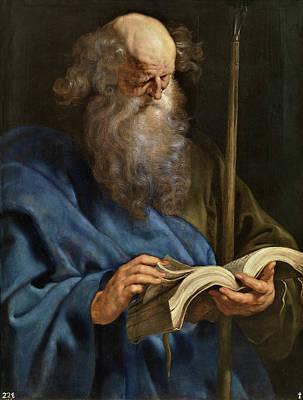 Doubting Painting - Saint Thomas by Peter Paul Rubens