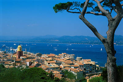 Saint-tropez - Provence Print by Martial Colomb