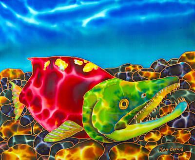 Salmon Fish Print by Daniel Jean-Baptiste