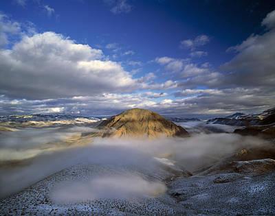 Salmon River Photograph - Salmon River Mountains by Leland D Howard