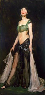 Robert Henri Painting - Salome Dancer by Robert Henri