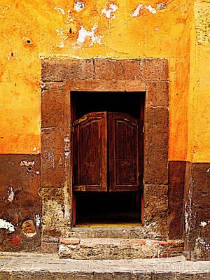 Saloon Door 5 Print by Mexicolors Art Photography