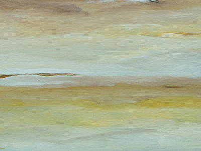 Bog Painting - Saltmarsh  by Conor Murphy
