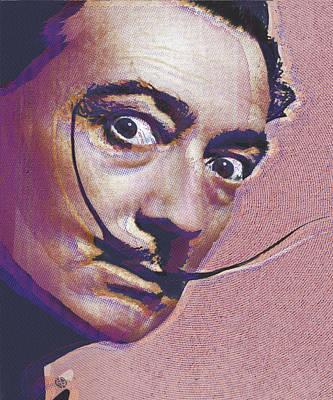Salvador Dali Pop Art Painting 1 Original by Tony Rubino