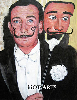 Tr Painting - Salvador Dali by Tom Roderick