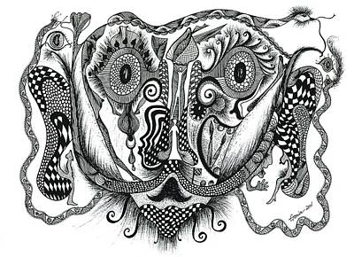 Salvador Dali With His Paranoiac Critical Activity Original by Genia GgXpress