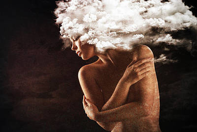 Emotion Mixed Media - Salvation by Jacky Gerritsen
