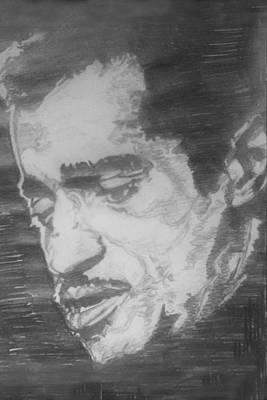 Harlem Drawing - Sammy Davis Jr by Rachel Natalie Rawlins