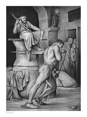 Samson Print by Greg Joens