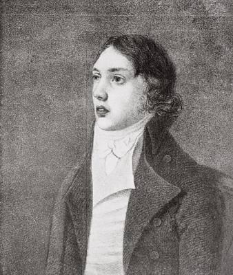 Coleridge Drawing - Samuel Taylor Coleridge,1772 1834 by Vintage Design Pics