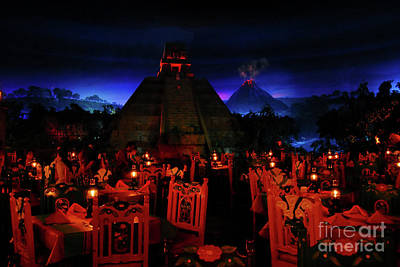 Walt Disney World Photograph - San Angel Inn Mexico by David Lee Thompson