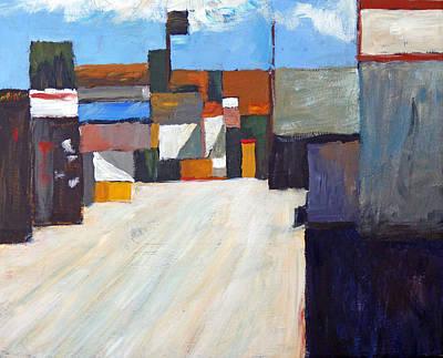 San Clemente Alley Original by Michael Ward